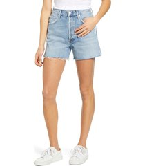 agolde dee ultra high waist cutoff denim shorts, size 30 in chimes at nordstrom
