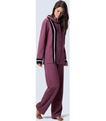 pijama joge longo vermelho
