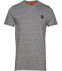 collective tee t-shirts short-sleeved grå superdry