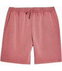 mens pink burgundy jersey shorts