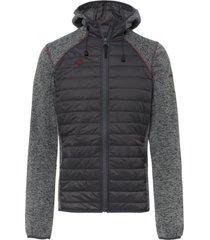 chaqueta de punto noya gris izas outdoor