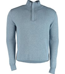 bos bright blue yuri - halfzip pullover 21105yu08sb/210 l.blue