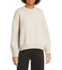 women's mansur gavriel wool crewneck sweater