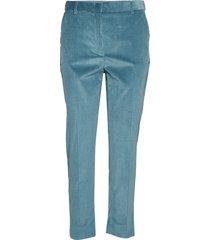 jedy pantalon met rechte pijpen blauw weekend max mara