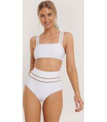 na-kd swimwear bikiniunderdel - white