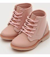 bota coturno kidy infantil fashion baby rosa - rosa - menina - dafiti