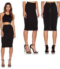 pencil skirt for women sexy high waist zipper bodycon