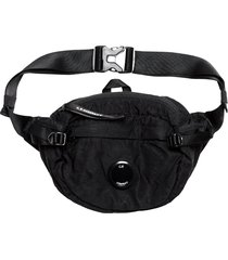 c.p. company nylon satin waist bag |black| 198a-5269g 999