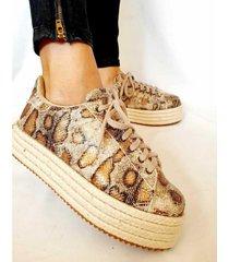 zapato animal print vita shoes