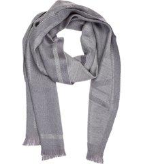 emporio armani double question mark wool scarf