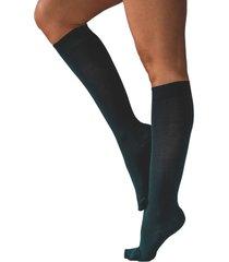 calcetín active con compresión azul ibici