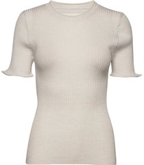 anine t-shirts & tops short-sleeved crème fall winter spring summer