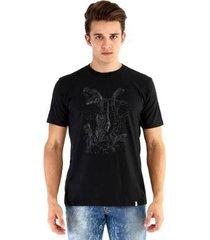 camiseta ouroboros dinossauros masculina - masculino