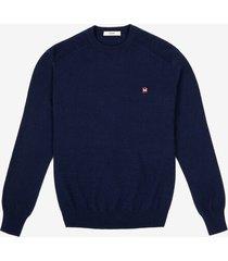 crew neck sweater blue 56