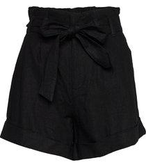 shorts shorts paper bag shorts svart abercrombie & fitch