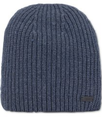 boss men's malloci ribbed beanie hat