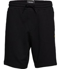 sweat short shorts casual svart lyle & scott