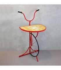 aparador bicicleta guidã£o vermelho - multicolorido - dafiti