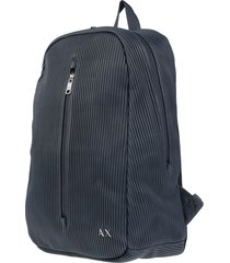 armani exchange backpacks & fanny packs