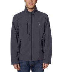 nautica men's stretch performance windbreaker and rain jacket