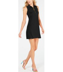 msk sleeveless zip dress