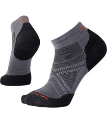 calcetín phd run light elite low cut gris smartwool