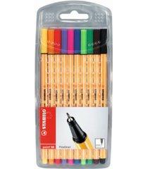 stabilo point 88 pen wallet set, 10 pieces
