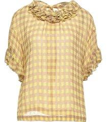 gold case blouses