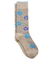 jos. a. bank hibiscus mid-calf socks, one-pair clearance