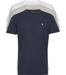 vee multipack t-shirts short-sleeved multi/mönstrad abercrombie & fitch