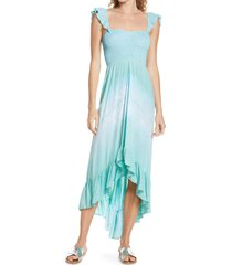 tiare hawaii brooklyn cover-up maxi dress in nata ocean at nordstrom