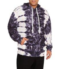 mvp collections men's big & tall tie-dye long sleeve pullover hoodie
