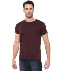 camiseta colombo lisa roxa - roxo - masculino - algodã£o - dafiti