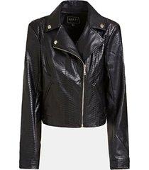 chaqueta ls rosetta viper moto jacket negro guess
