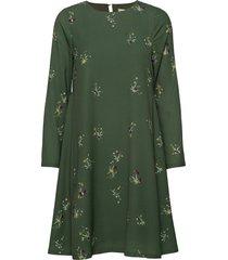 torn jurk knielengte groen fall winter spring summer