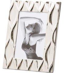 porta retrato lyor de aço niquelado diamond prata