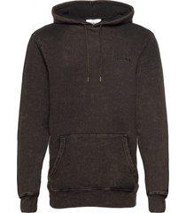 casual hoodie hoodie trui bruin han kjøbenhavn