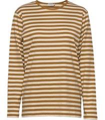pitkähiha t-shirts & tops long-sleeved bruin marimekko