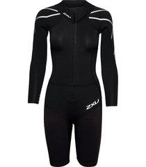 swimrun: 1 wetsuit baddräkt badkläder svart 2xu