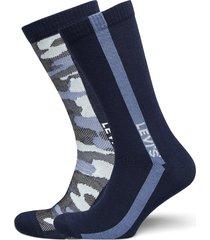 levis regular cut camo 2p underwear socks regular socks blå levi´s