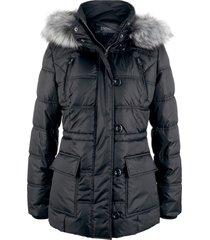 giacca trapuntata con cappuccio (nero) - bpc bonprix collection