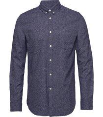 liam ba shirt 11245 overhemd casual blauw samsøe & samsøe