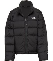 g andes down jacket gevoerd jack zwart the north face