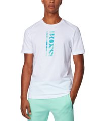 boss men's teeonic cotton-blend t-shirt