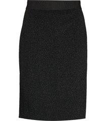 ozaraiw skirt knälång kjol svart inwear