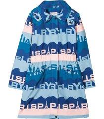 sonia rykiel enfant teen patterned coat