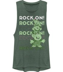 disney juniors' frozen rock on festival muscle tank top