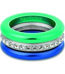anillo merry blue swatch bijoux
