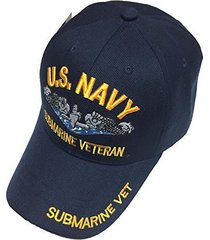 army gear u.s. military hat us navy submarine veteran baseball cap mens adjustab