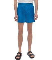 men's helmut lang silk shorts
